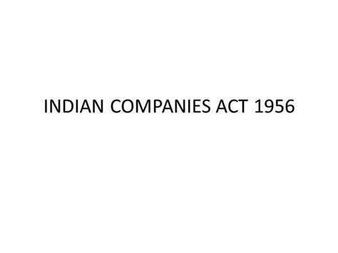 indian law sections pdf download free software indian companies act 1956