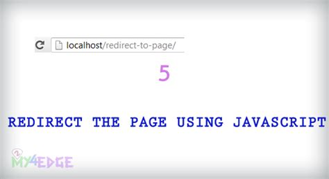 javascript tutorial redirect redirect the page using javascript without htaccess