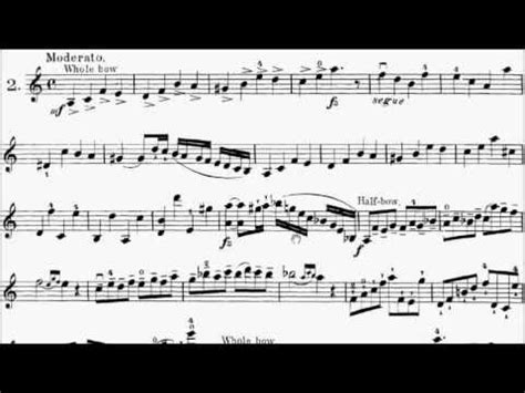 Etude Violin Suzuki Mazas Violin Etude Op 36 No 2 Sheet