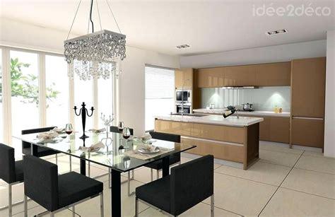 Deco Pour Cuisine by Decoration Interieur Salon Salle A Manger Pour Deco