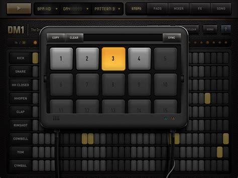 drum pattern ipad review dm1 drum machine for ipad macstories