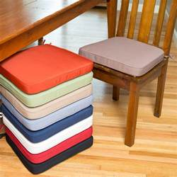 chair pads for dining room chairs deauville 18x16 5 in dining chair cushion dining chair