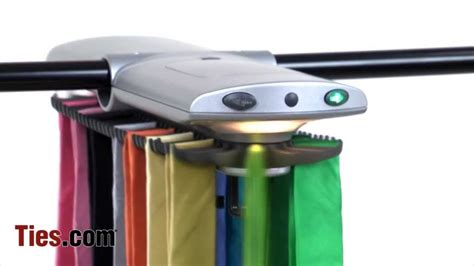 Electronic Closet Tie Rack by Electronic Tie Racks Motorized Tie Rack Storage Ties