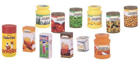 envasado alimentos alimentos envasados juego simb 243 lico juguetes mobiliario