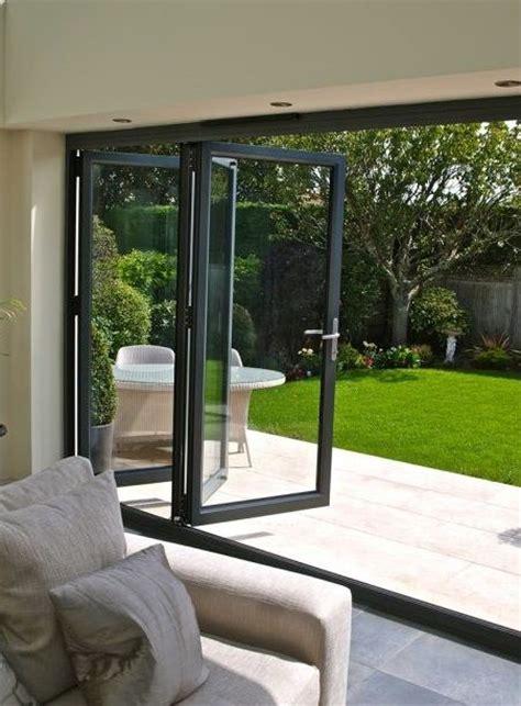 bi folding glass doors best 25 bi fold doors ideas on glass roof