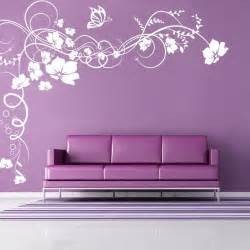 wall sticker canada wall decals canada wall stickers vine flowers