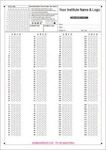 100 question answer sheet template 100 question answer sheet template
