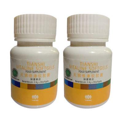 Pemutih Vitaline Softgel pusat grosir herbal dan diet bunda