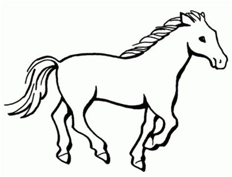 simple horse coloring page coloring pages of horses horse alphabet coloring pages