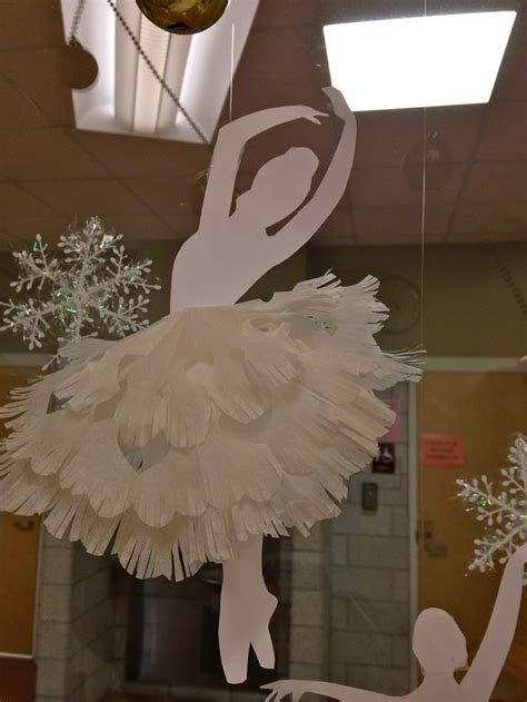 printable ballerina snowflakes 17 best images about dancing on pinterest iris