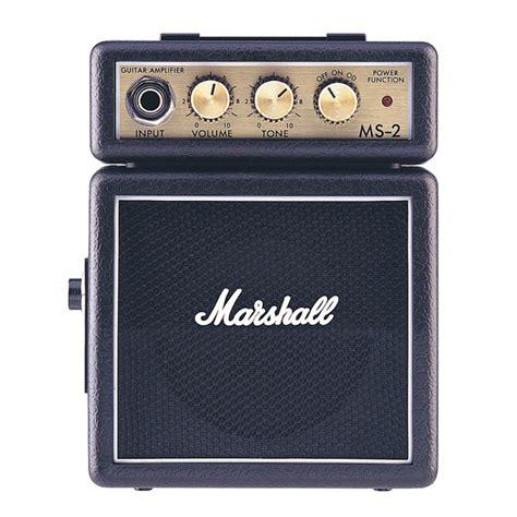 Marshall Ms 2 Portable Micro Lifier marshall ms 2 micro black at gear4music