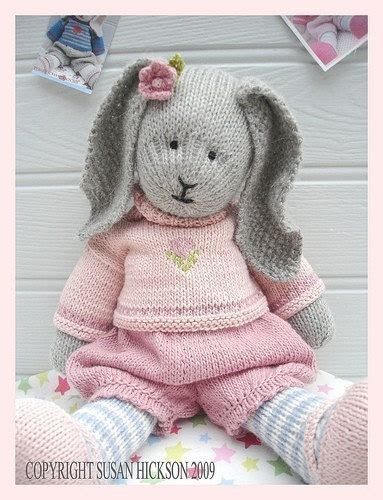 free knitting patterns for bunny rabbits primrose rabbit bunny knitting pattern by