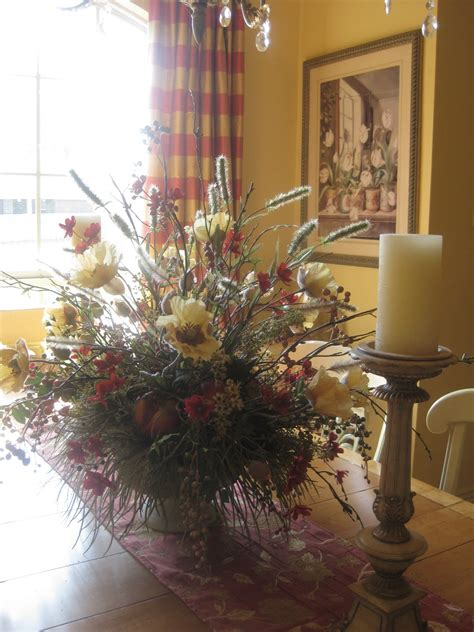 dining room table arrangements dining room flower arrangements awesome dining room table