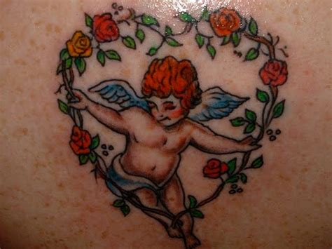 gothic angel tattoo designs tattoogirl painting