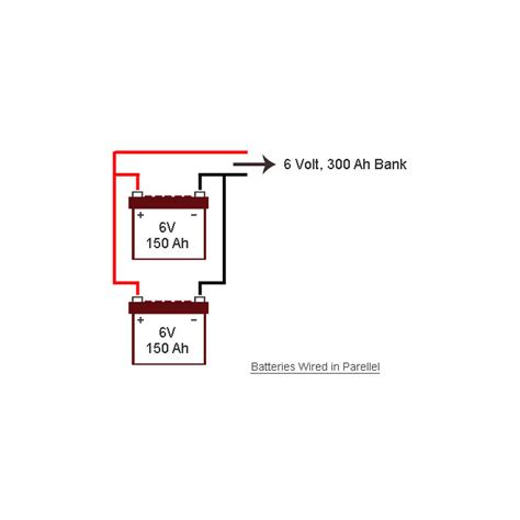 wiring 12v batteries in parallel wiring free engine