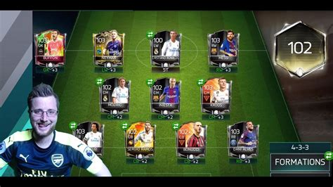 futhead best team fifa mobile 18 the best team in fifa mobile 18 gameplay