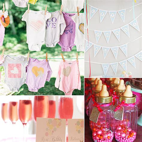 themes girl baby shower baby shower ideas for girls party favors ideas