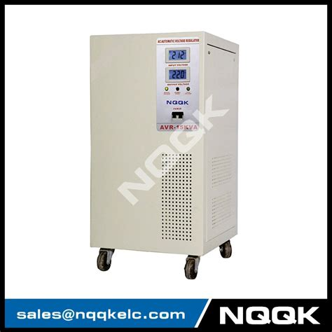 3 Phase Voltage Stabilizer 20kva by Avr 15kva 20kva Servo Type 1phase Series Voltage