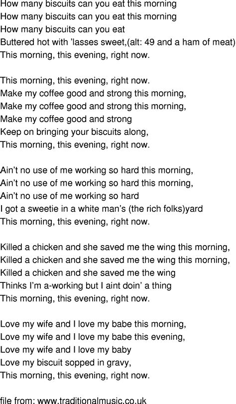 so what testo time song lyrics how many biscuits can you eat