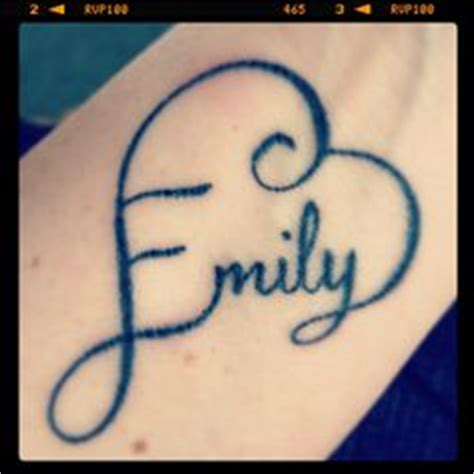 tattoo ideas name emily 1000 images about emma tattoo on pinterest name tattoos