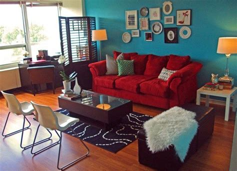 sofa teal accent wall home ideas teal paint living rooms and sofa