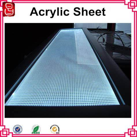 light guide plate pattern design software laser engraving light guide panel pmma acrylic sheet