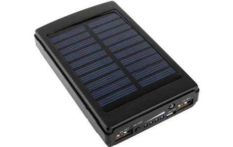 Power Bank Bio Solar solar powerbank mehr schein als sein digitalweek de