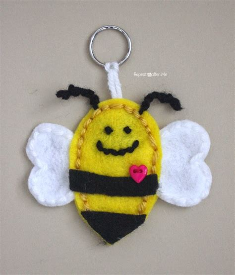 the shiny bee who felt out of place conscious volume 1 books felt bumble bee keychain repeat crafter me