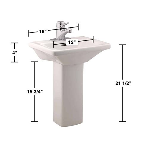Open Bathroom Designs children s white best pedestal sink grade a vitreous china