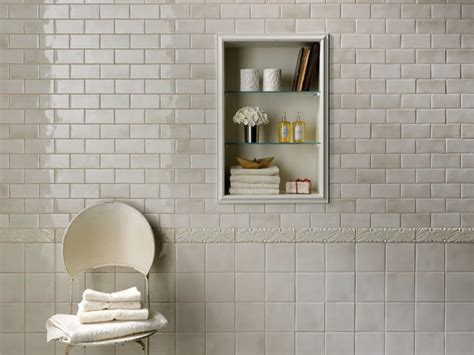 tiled bathroom walls grazia melange wall tile soft palette and gentle shading