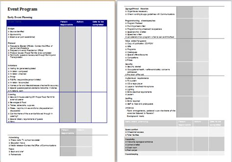 doc 500691 free download party planning timeline mini