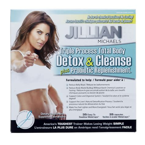 Jillian Detox And Cleanse Kit With Probiotic by Diet Fitness
