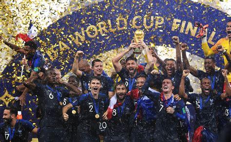 coupe du monde 2018 football finale de la coupe du monde de football de 2018 wikip 233 dia