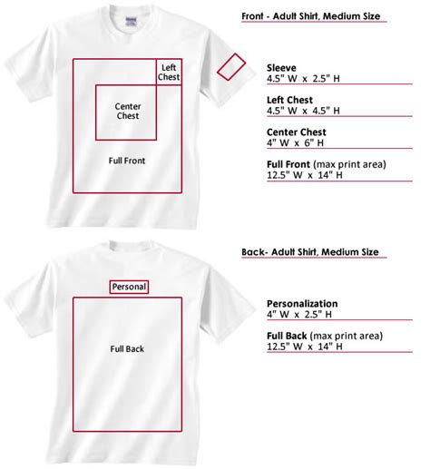 T Shirt Printable Area | left chest logo placement related keywords left chest