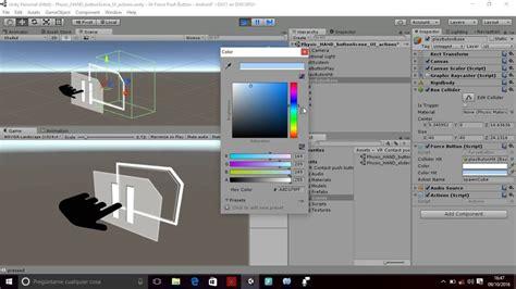 tutorial unity cardboard tutorial vr push button for google cardboard and slider