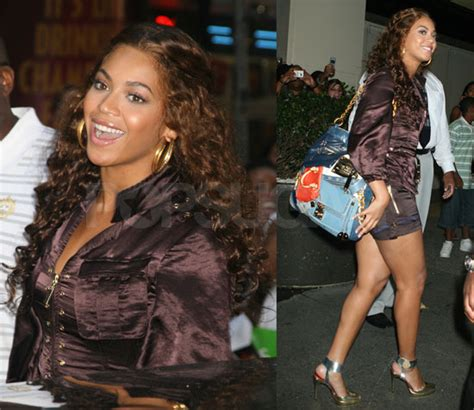 Solange Knowles Horrid Louis Vuitton At Mtv Trl Times Square by Beyonce Knowles How Much That Bag Cost Popsugar