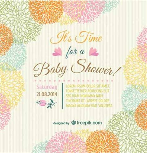 shower invitation cards 35 sets of printable templates to