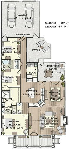 long narrow house floor plans long narrow house with possible open floor plan for the