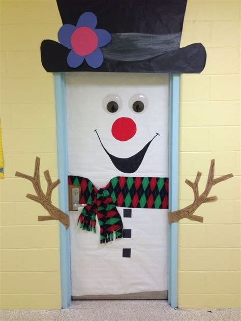 Snowman Door Decorations by 92 Best Images About Elementary Classroom Doors On