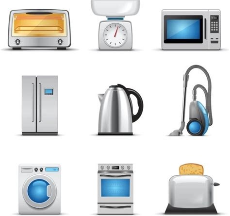 electrical appliances free vector download 897 free