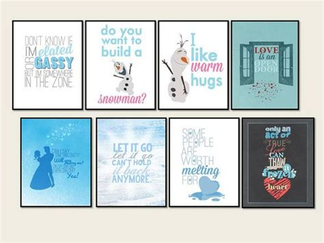 printable frozen quotes 10 best images about frozen room on pinterest it s