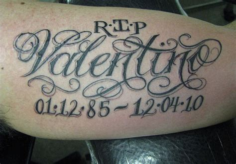 rip tattoos for grandma 40 astounding rip tattoos creativefan