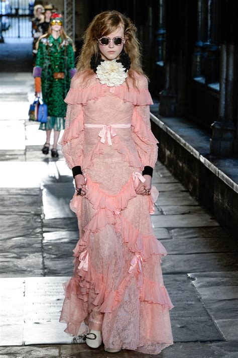 Wardrobe In Fashion Show by Gucci Resort 2017 Collection Vogue