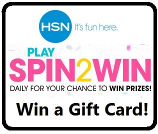 Hsn Spin2win Instant Win Game Win A 25 Gift Card Mojosavings Com - thrifty momma ramblings hsn spin to win holiday arcade instant win game