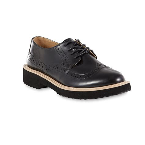 oxford womens shoes bongo s willow black oxford shoe