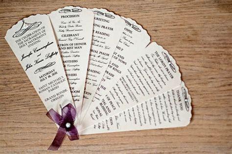 images of formal event programs program design ideas to 30 wedding program design ideas to guide your party guest