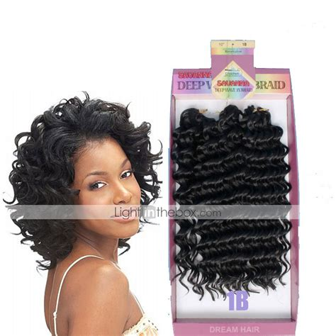 10inch deep wave synthetic braided style 10inch freetress water wave synthetic braided deep wave style 3pc pack bouncy curl