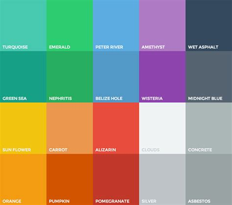 web design color schemes 2017 flat design ios 7 skeuomorphism and all that