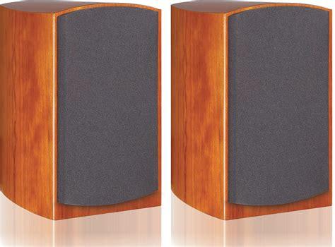 peachtree audio d4 cherry wood bookshelf speakers at