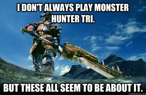 Monster Hunter Memes - monster hunter funny with captions memes
